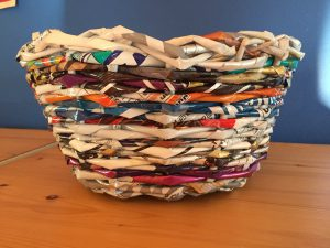 Basket Weaving with Plastic Bags: Instructions