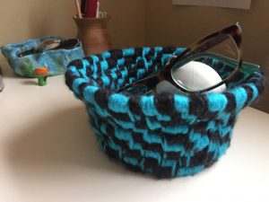 How to Make a Coil Basket from Plastic Bags