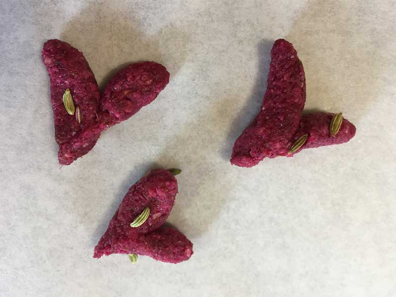 Heart Shaped Horse Treats for Valentine's Day