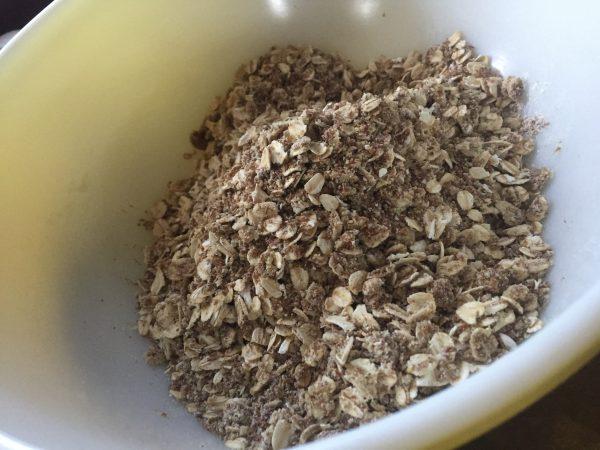 horse granola treat mix