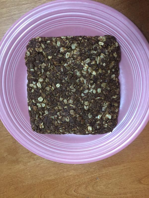 DIY granola bars for horses