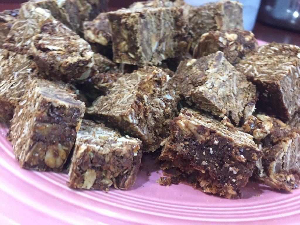Crunch granola horse treats
